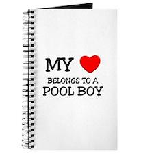 My Heart Belongs To A POOL BOY Journal
