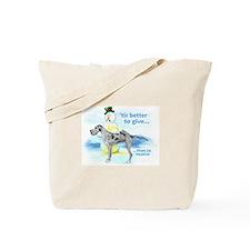 Great Dane MerleUC Giving Tote Bag