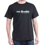 The Cowsills Name w/Blue Flower Black T-Shirt
