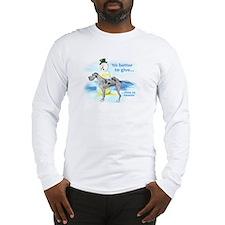 Great Dane MerleUC Giving Long Sleeve T-Shirt