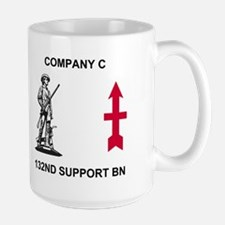 Co C, 132nd Support Bn <BR>Retired Coffee Mug