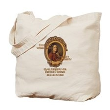 Ben Franklin on Security or Freedom Tote Bag