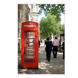 London phone booth Postcards
