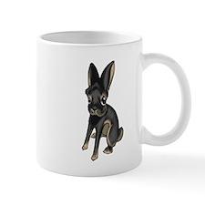 Black and Tan Belgian Hare Mug