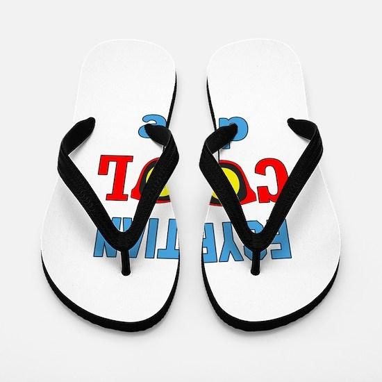 Egyptian Cool Dude Flip Flops