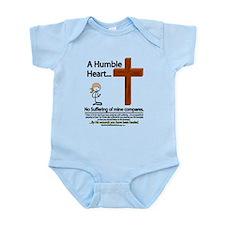 A Humble Heart Infant Bodysuit