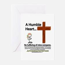 A Humble Heart Greeting Cards (Pk of 20)