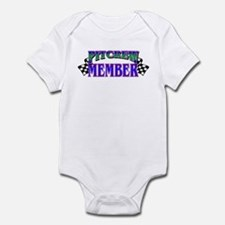 Pit Crew Member Infant Bodysuit