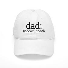 dad: soccer coach Baseball Cap