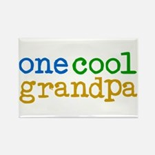 one cool grandpa Rectangle Magnet