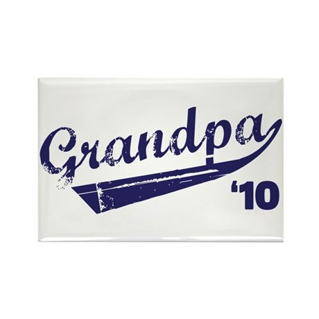 grandpa t-shirts '10 Rectangle Magnet