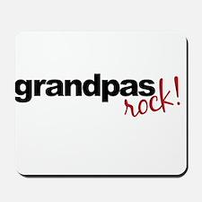grandpa t shirts rock Mousepad