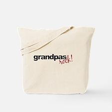 grandpa t shirts rock Tote Bag