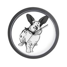 Broken Blue Mini Rex Wall Clock