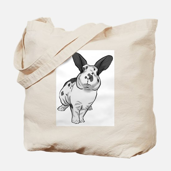 Broken Blue Mini Rex Tote Bag