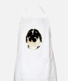 Broken Black Holland Lop BBQ Apron