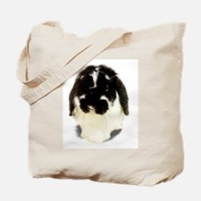 Broken Black Holland Lop Tote Bag