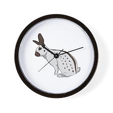 Chocolate English Spot 2 Wall Clock
