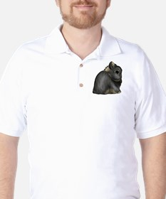 Black Otter Netherland Dwarf Golf Shirt