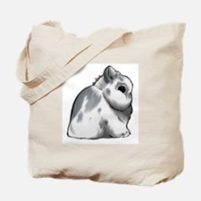 Broken Blue Netherland Dwarf Tote Bag