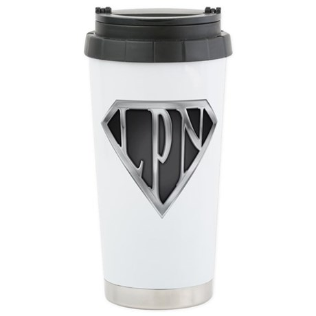 SuperLPN(metal) Stainless Steel Travel Mug
