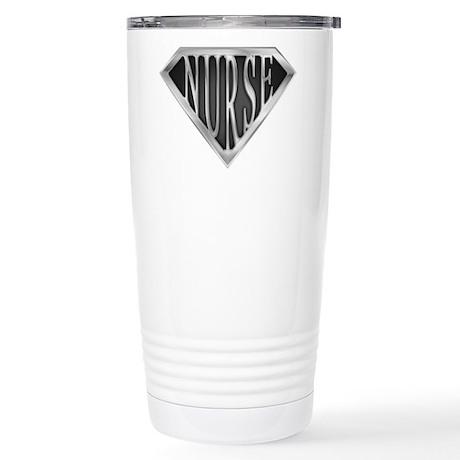 SuperNurse(metal) Stainless Steel Travel Mug