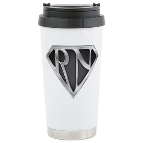 Super RN - Metal Stainless Steel Travel Mug
