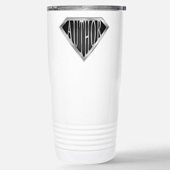 SuperAuthor(metal) Stainless Steel Travel Mug