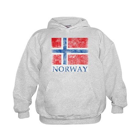Vintage Norway Kids Hoodie