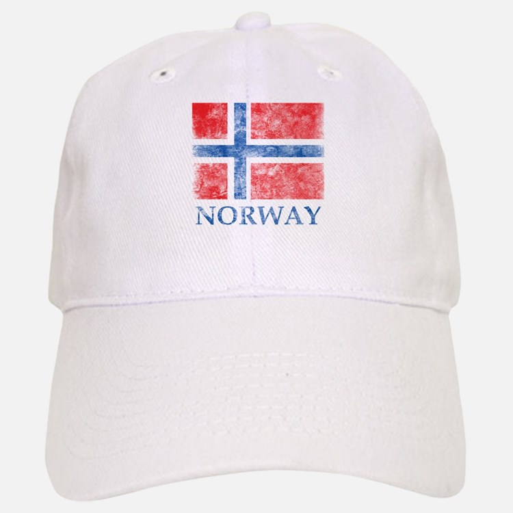 Vintage Norway Baseball Baseball Cap