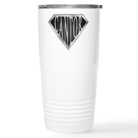 SuperCantor(metal) Stainless Steel Travel Mug
