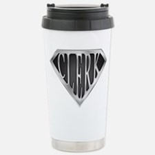 SuperClerk(METAL) Thermos Mug