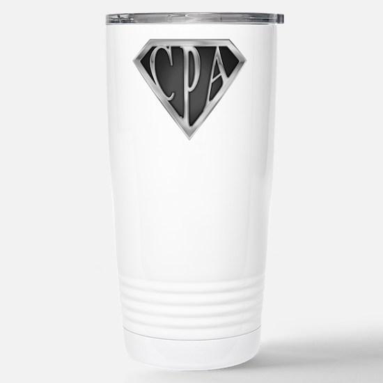 Super CPA - Metal Stainless Steel Travel Mug