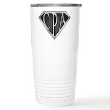 Super CPA - Metal Travel Coffee Mug
