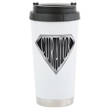 SuperCurator(metal) Travel Mug