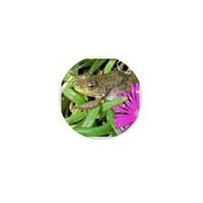 Baby Leopard Frog Mini Button