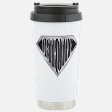 SuperDetective(metal) Stainless Steel Travel Mug
