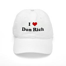 I Love Don Rich Baseball Cap