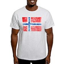 Vintage Norway Flag T-Shirt