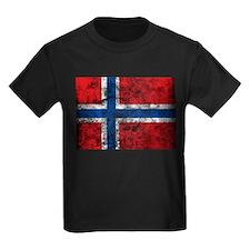 Vintage Norway Flag T