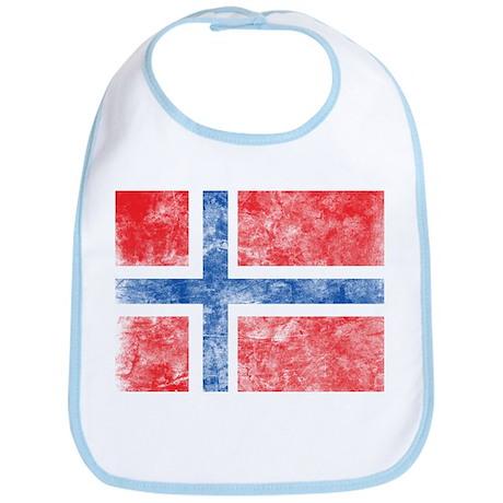 Vintage Norway Flag Bib