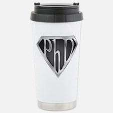 Super PhD - metal Travel Mug