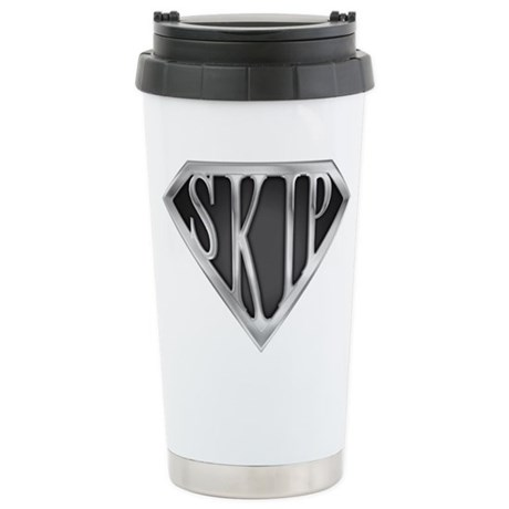 SuperSkip(metal) Stainless Steel Travel Mug