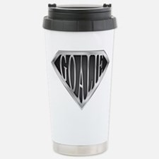 SuperGoalie(metal) Stainless Steel Travel Mug