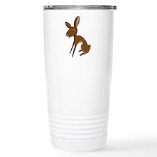 Belgian Hare Cartoon Travel Mug