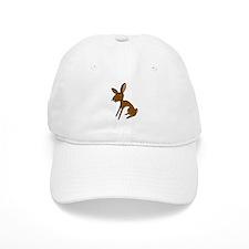 Belgian Hare Cartoon Baseball Cap