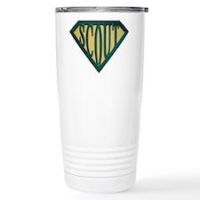 SuperScout(Tan) Travel Coffee Mug