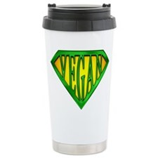 SuperVegan(Green) Travel Mug
