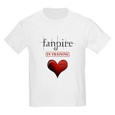 Fanpire in Training Heart Bit T-Shirt
