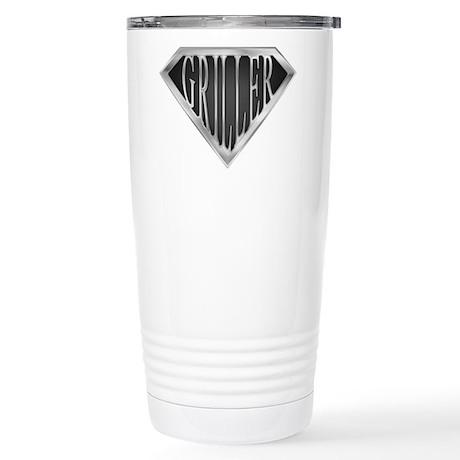 SuperGriller(metal) Stainless Steel Travel Mug